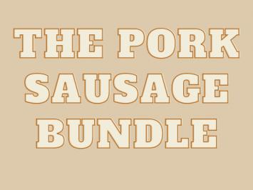 The Pork Sausage Bundle