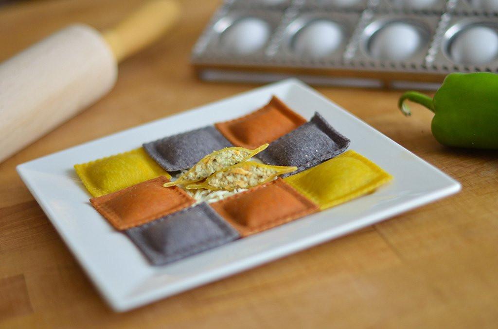 Endless Pastabilities - Chili Relleno & Pepper Jack Cheese Ravioli