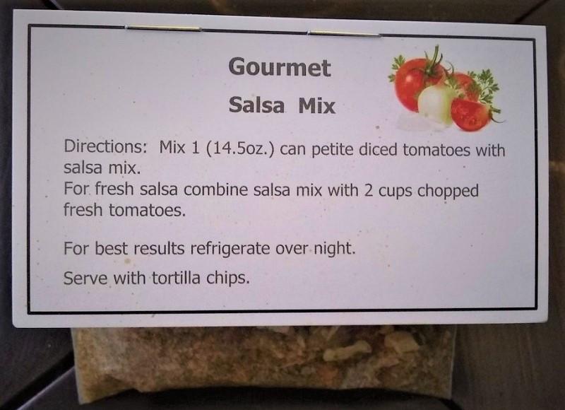 Jeanie's Gourmet Salsa Mix