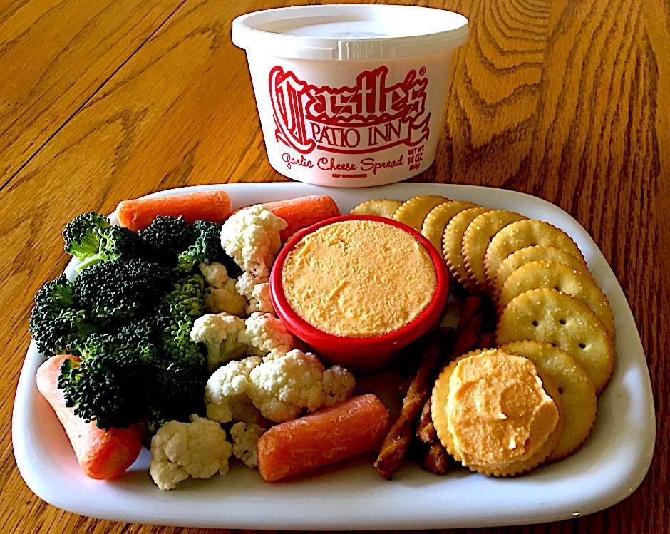 Castle's Patio Inn - Garlic Cheese Spread