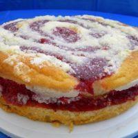 Dave's Coffee Cake - Raspberry