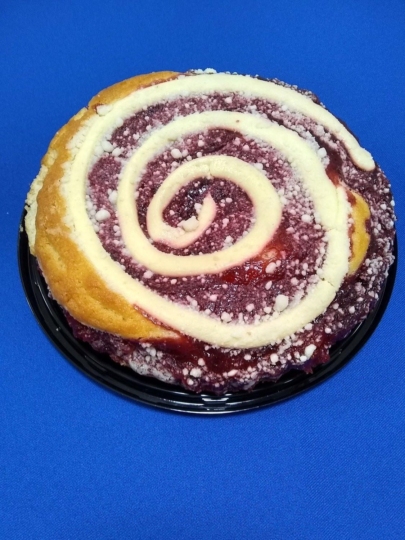 Dave's Coffee Cake - Strawberry Cream Cheese