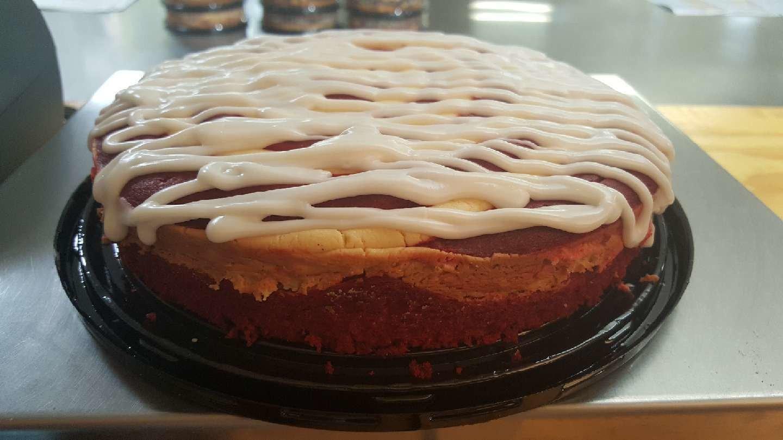 Dave's Coffee Cake - Red Velvet Cream Cheese