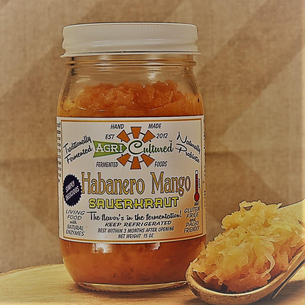 Agri-Cultured - Habanero Mango Sauerkraut