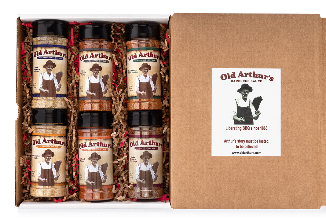 Old Arthur's - Dry Rub Gift Pack