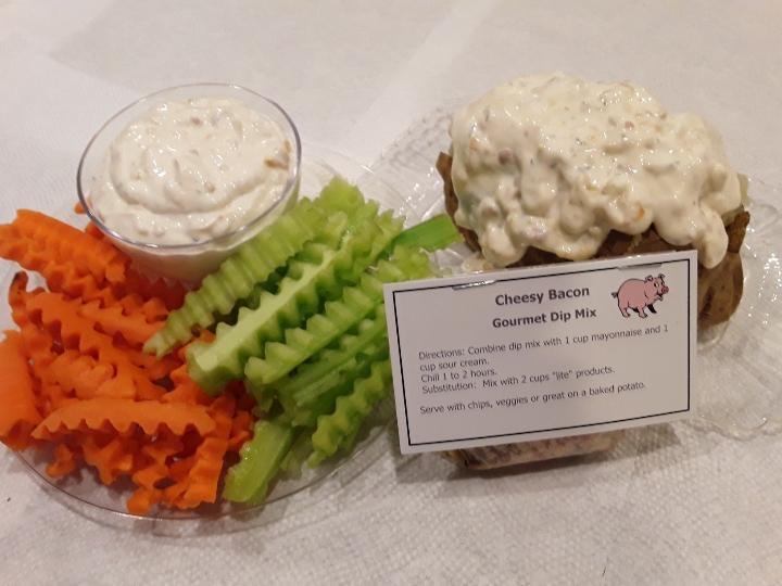 Jeanie's Cheesy Bacon Gourmet Dip Mix