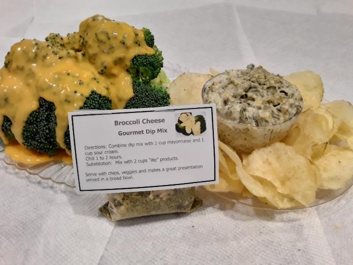 Jeanie's Broccoli Cheese Gourmet Dip Mix