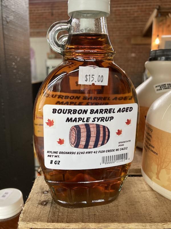 Palm Tree Pat - Bourbon Barrel Aged Maple Syrup