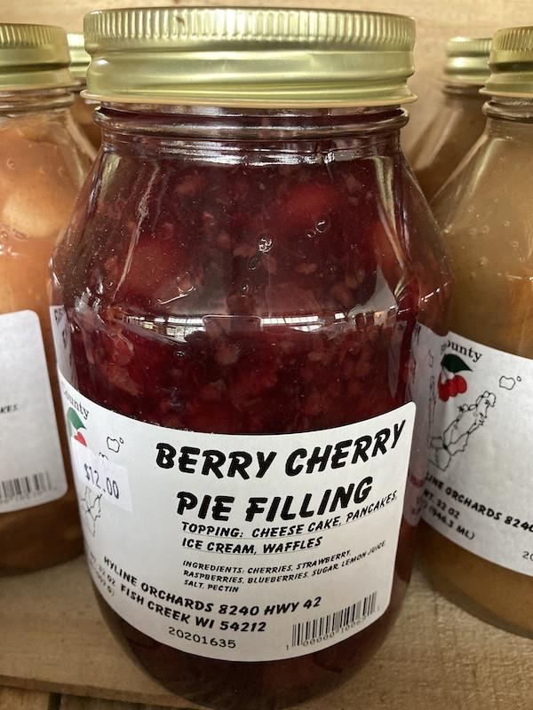 Palm Tree Pat - Berry Cherry Pie Filling