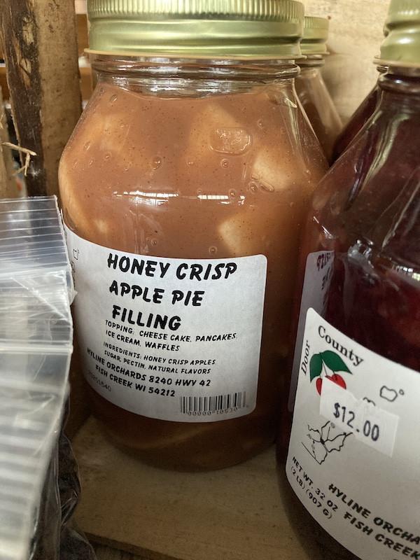 Palm Tree Pat - Honey Crisp Apple Pie Filling
