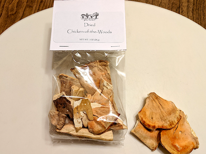 Wild Growth Gourmet Mushrooms - Dried Chicken-of-the-Woods