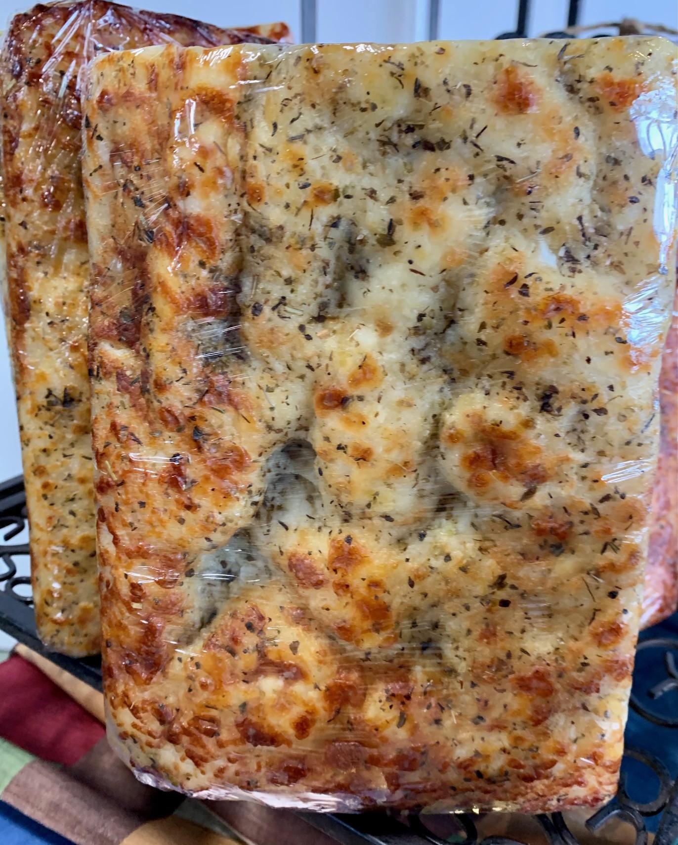 Lavish Lily - 5 Italian Cheeses and Herb, garlic Focaccia