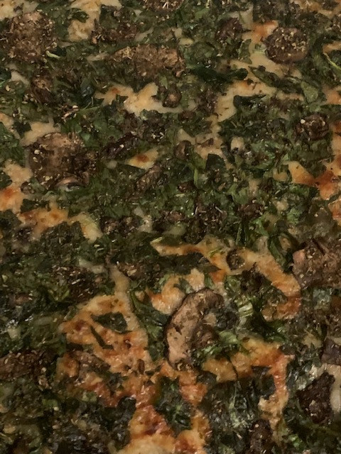 Lavish Lily - Spinach and Mushroom Focaccia