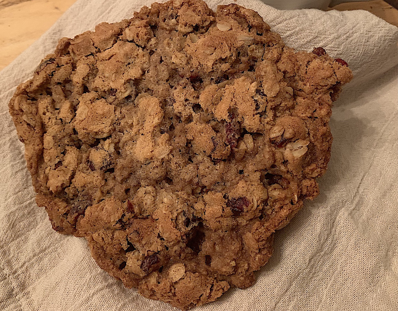 Solitary Baker - Oatmeal Cranberry Cookie (2)
