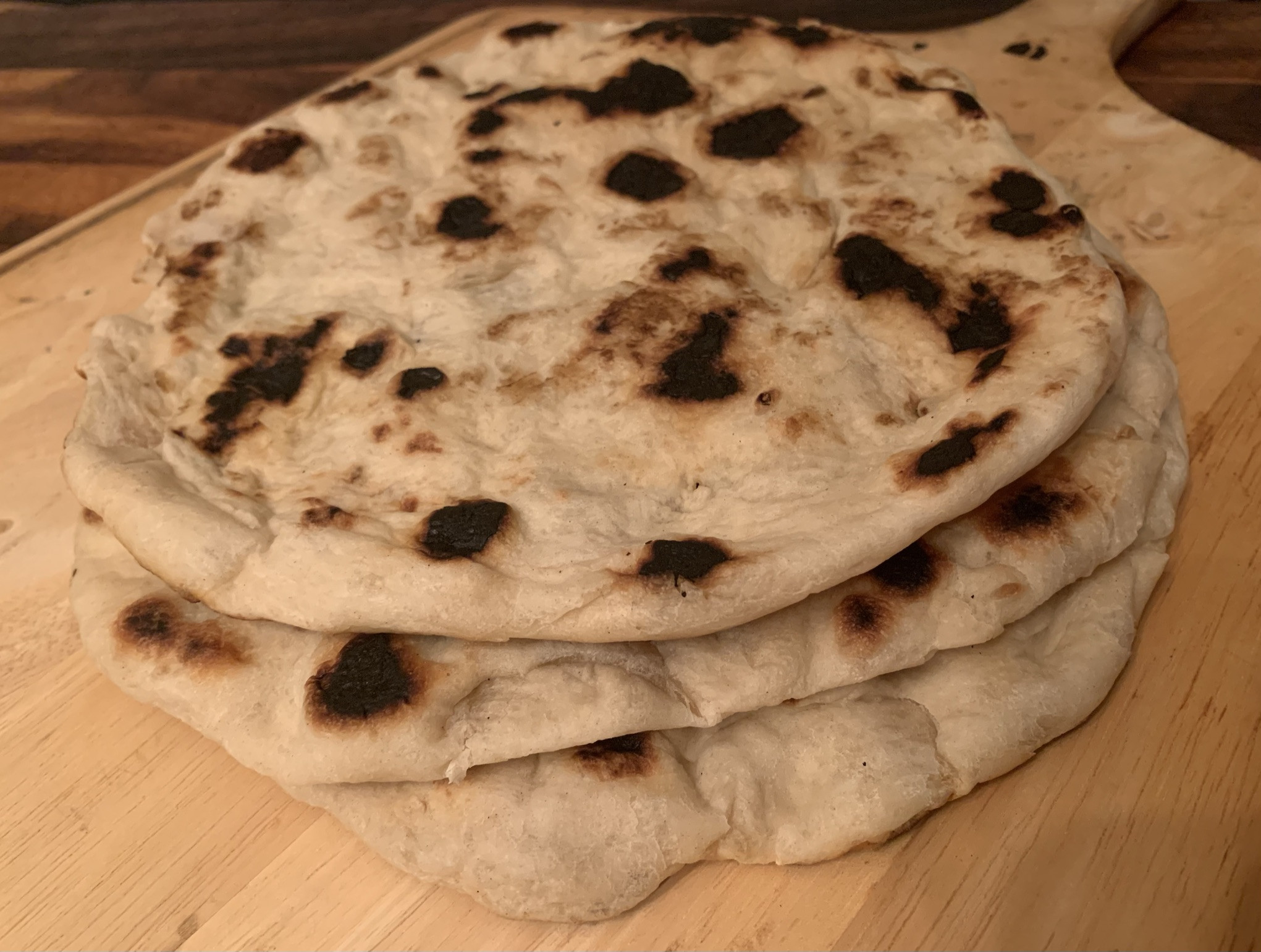 Solitary Baker - Roasted Garlic-Shallot Flatbreads (vegan) (3)