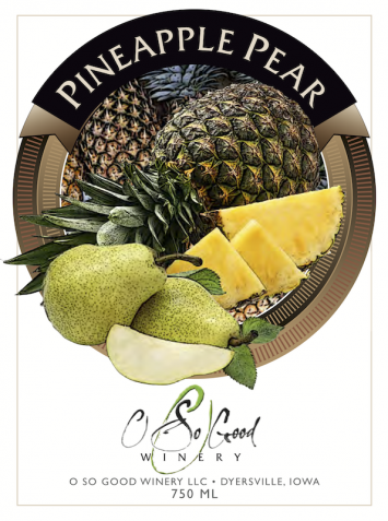 O So Good - Pineapple Pear