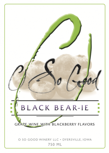 O So Good - Black Bear-ie