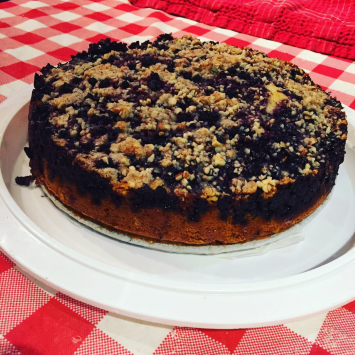 Swiss Baker - Fruit Streusel, Cake By The Slice