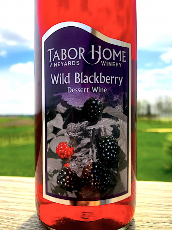 Tabor Home Winery - Wild Blackberry