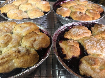 Bread Lady - Blueberry Cobbler