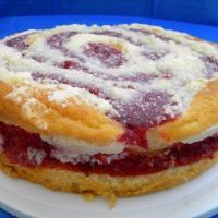 Dave's Coffee Cake - Raspberry
