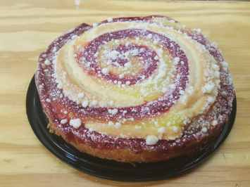 Dave's Coffee Cake - Raspberry Lemon