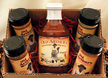 Old Arthur's - Essential Grilling Gift Pack