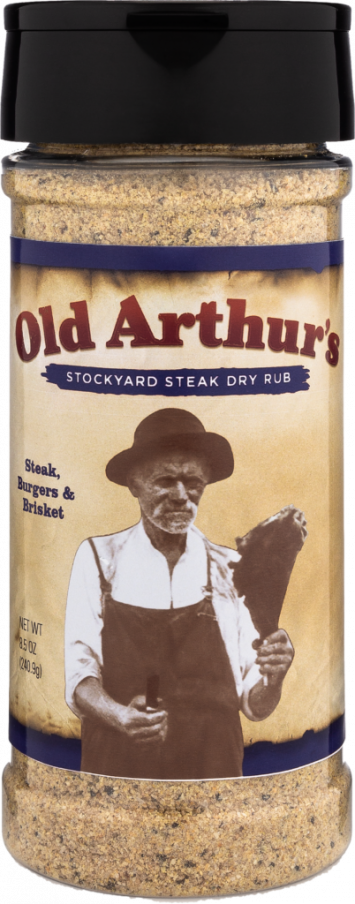 Old Arthur's - Stockyard Steak Dry Rub