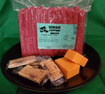 Scherer Custom Meats - Beef Sticks 2lb Package