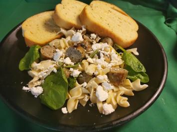 Scherer Custom Meats - Chicken Spinach Feta Brats