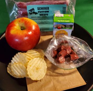 Scherer Custom Meats - Smoked Beef Snack Sticks