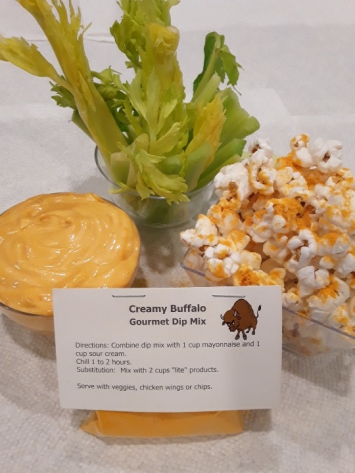 Jeanie's Creamy Buffalo Gourmet Dip Mix