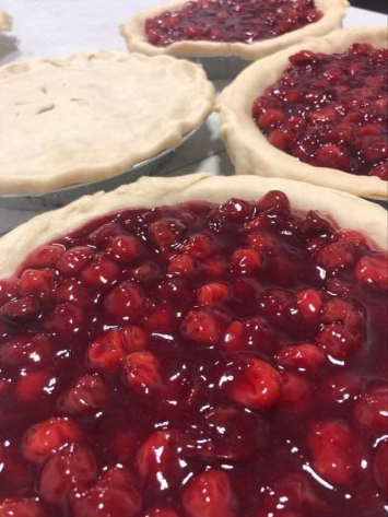 Out On A Limb Pie Company - Pucker Up Butter Cup Cherry Pie