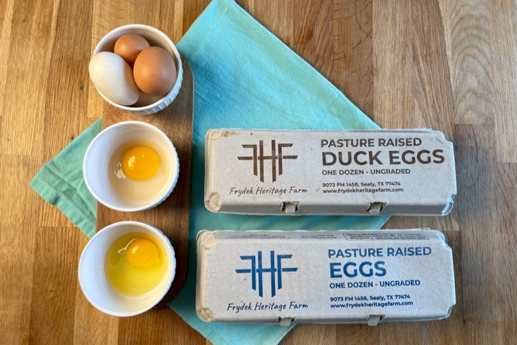 How are Duck Eggs Different from Chicken Eggs?