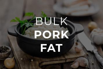 Pork Fat - 5 PK (10 lbs)