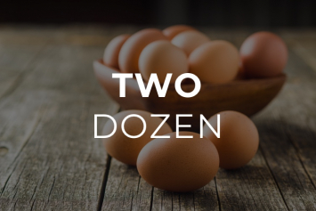 Eggs, 2-dozen