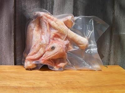Chicken Feet and Heads-FCF Non-GMO