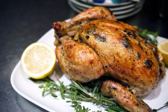 Shannon's favorite Herb Roasted Chicken