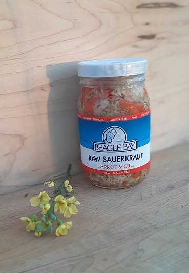 Carrot & Dill Sauerkraut
