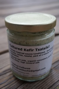 Cultured Kefir Tsatsiki - 8 oz