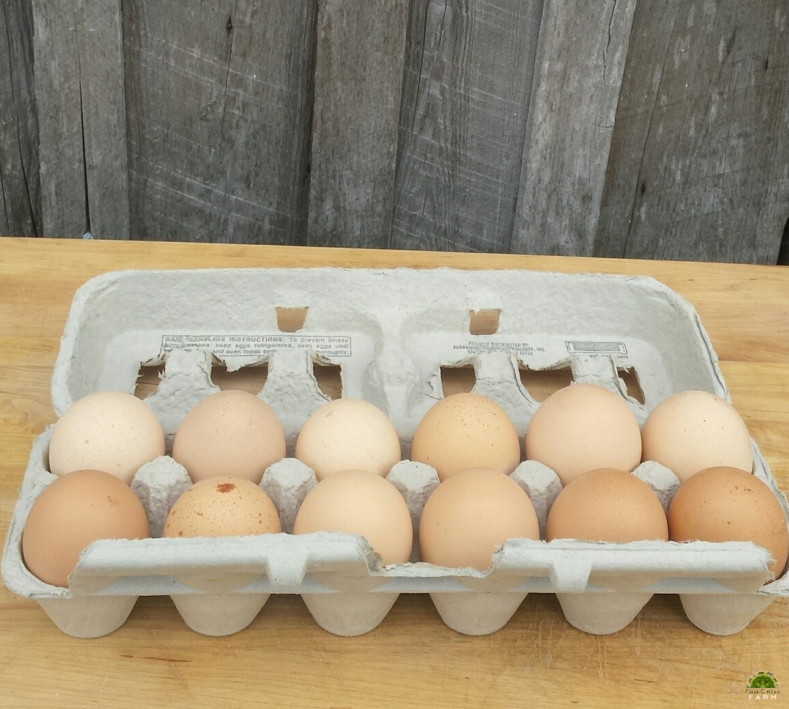 Chicken Eggs, Non-GMO, Soy Free - 3 Doz Bundle