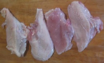 Chicken Breasts, Non-GMO, Soy Free