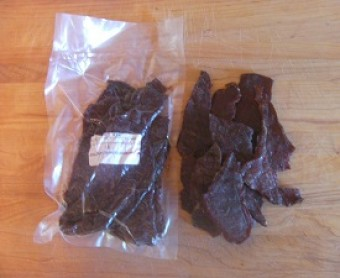Beef Jerky-Cut Across the Grain