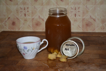 Water Kefir, Ginger Ale