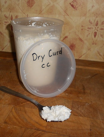 Dry Curd Cottage Cheese - A2, Frozen