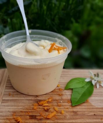 FCF Ice Cream, Lemon (pint)