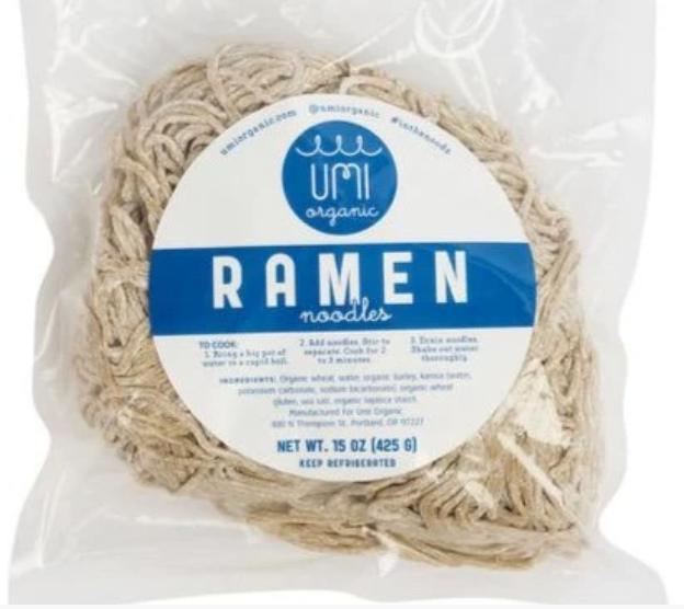 Ramen (wheat noodles)