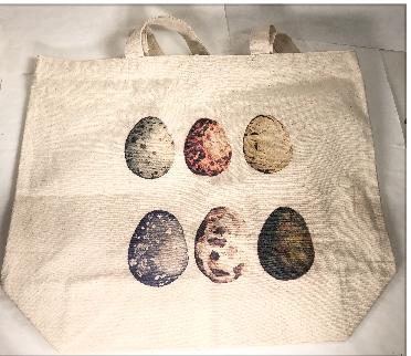 Tote bag, Eggs