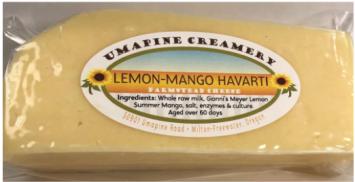 Cheese, Lemon-Mango Havarti