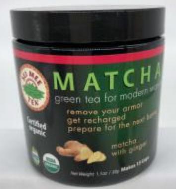 Tea, Green Matcha Ginger Organic